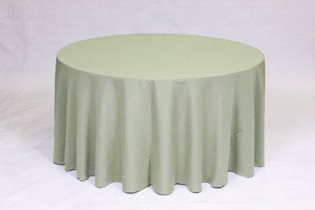 Sage Poly solid linen