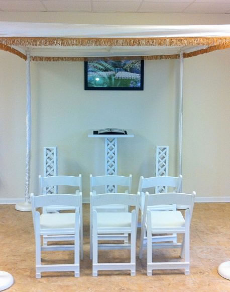 chuppa wedding canopy rental