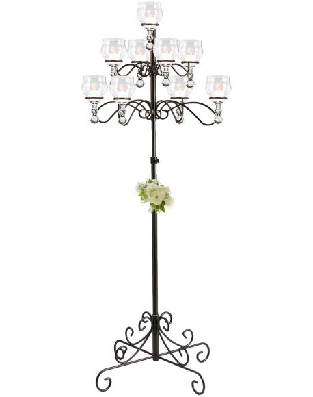 Bronze 9 branch tree candelabra