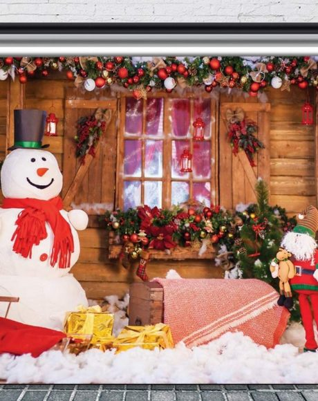 winter christmas holiday photo backdrop