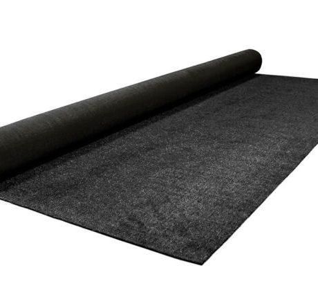 black astroturf for covering subfloor