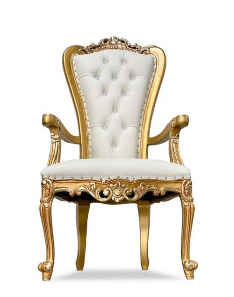 throne Chair Gold_Ivory